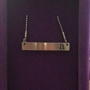"New In Box - Kate Forty Eight Bar Necklace ""A"""